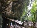 Grotta del Rio Secco in scavo